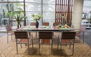 All Weather Outdoor/Indoor Extendable Dining Set on Sale at Gooddegg