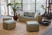 Outdoor/Indoor Wicker Sofa on Sale at Gooddegg
