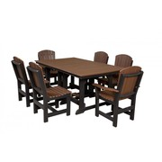 Outdoor 7 Piece Dining Table Set