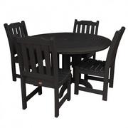 Outdoor 5pc Round Dining Set