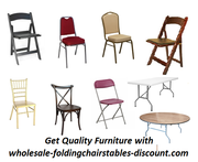 Get Quality Furniture with wholesale-foldingchairstables-discount.com
