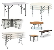 Wholesale Plastic Folding Tables at 1st Folding Chairs Larry