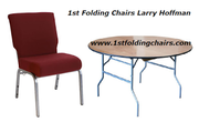 Furniture Shopping Concept with 1st Folding Chairs Larry Hoffman