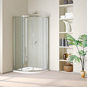 Quadrant,  Corner,  Frameless Shower Enclosures,  Glass Shower Doors