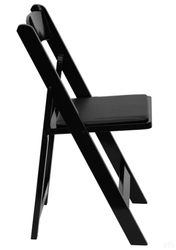 BLACK WOOD FOLDING CHAIR AT Chiavari Chairs Direct