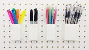 Peg board & slat wall hooks