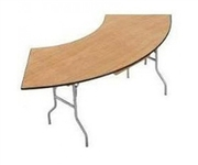 7ft Serpentine Table - Chair Company Larry Hoffman